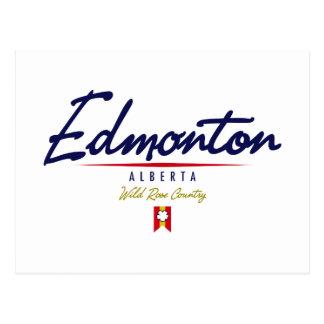 Edmonton-Skript Postkarte