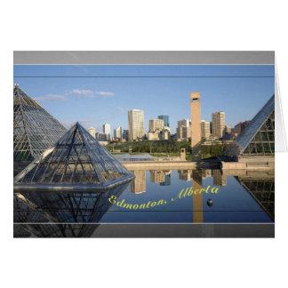 Edmonton-Skyline Karte