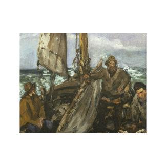 Edouard Manet - die Toilers des Meeres Leinwanddruck