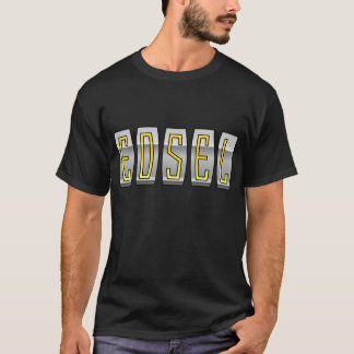 Edsel in den Goldbuchstaben T-Shirt
