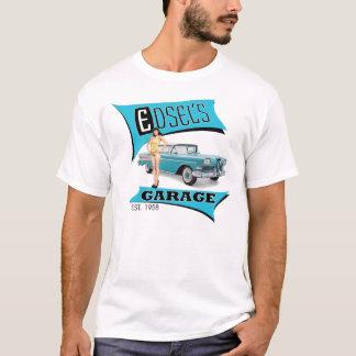 Edsels Garage im Blau T-Shirt