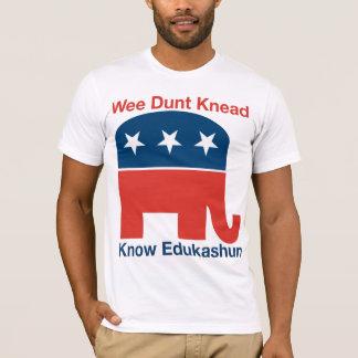 Edukashun - der T - Shirt der Männer