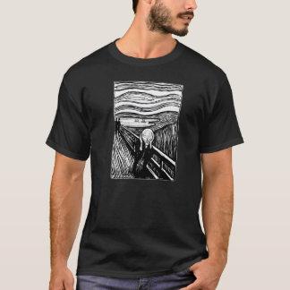 Edvard Munch der Schrei-Lithographie-T - Shirt