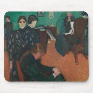 Edvard Munch - Tod im Sickroom Mousepads