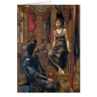 Edward-- Jones-König Cophetua und das Karte