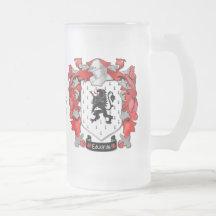Edwards Familienwappen - Wales-Kanada Tee Tassen
