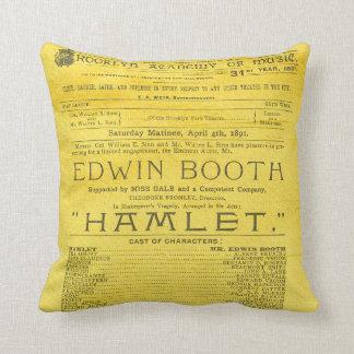 Edwin-Stand-Hamlet-Programm Kissen