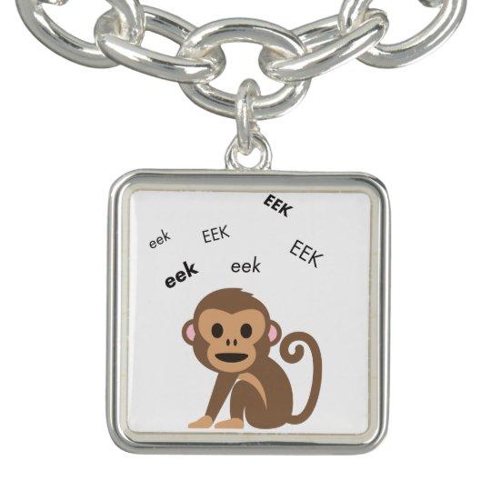 EEK-Affe niedliches Emoji Charm Armband