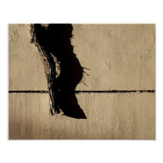 Efeu-Rebe und Schatten Poster
