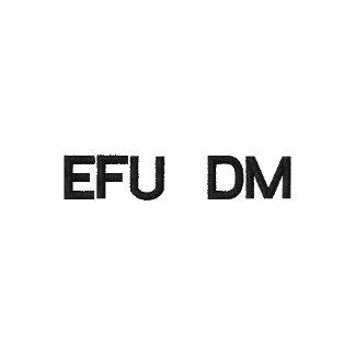 EFU DM Gewohnheit gesticktes Polo