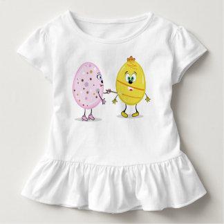 Eggcellent Maler-Kleinkind-Rüsche-T-Stück Kleinkind T-shirt