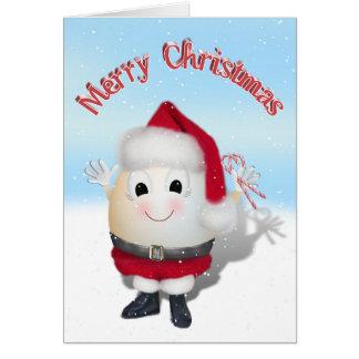 Eggstrordinary Sankt Weihnachtsei Karte