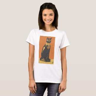Egipt bastet cat female T-Shirt