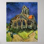 Église chez Auvers, Affiches