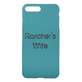Ehefrau-Telefonkasten des Viehzüchters iPhone 8 Plus/7 Plus Hülle