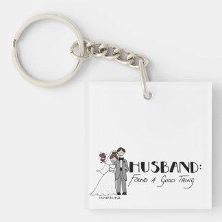Ehemann: fand eine gute Sache Schlüsselanhänger