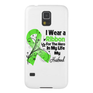 Ehemann-Held in meinem Leben-Lymphom-Band Samsung Galaxy S5 Cover