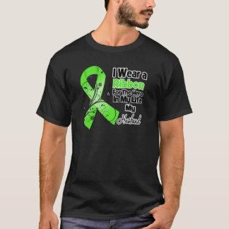 Ehemann-Held in meinem Leben-Lymphom-Band T-Shirt