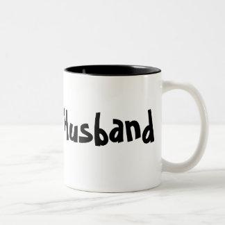 Ehemann - Kaffeetasse/Tasse Zweifarbige Tasse