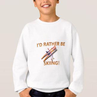 Eher fährt Ski Sweatshirt