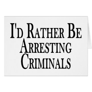 Eher Festnahme-Verbrecher Karte