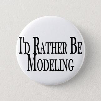 Eher modelliert runder button 5,1 cm