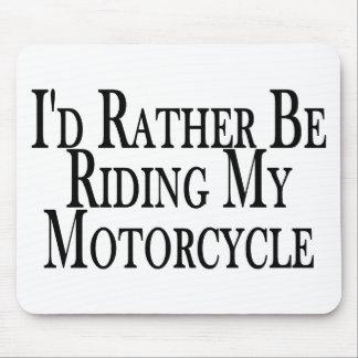 Eher reitet mein Motorrad Mauspads