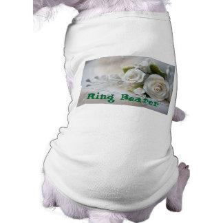 Ehering-Träger-Haustier-Kleidung Hunde T Shirts