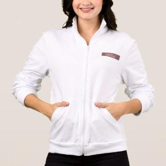 Ehrenchicago-Herz-Flagge und Zeichen-Shirt-Jacke