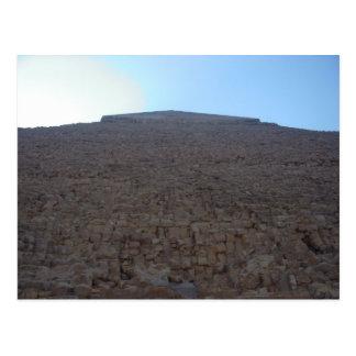 Ehrfurcht-Inspirieren der Pyramide in Ägypten Postkarten