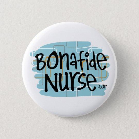 Ehrliche Krankenschwester Runder Button 5,1 Cm