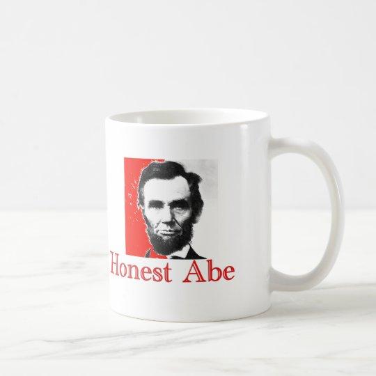 """""""Ehrlicher Abe"""" Abe Lincoln Kunst-T - Shirt u. Kaffeetasse"""