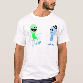 Eibisch-Baby-Erwachsener (Alpha) T-Shirt