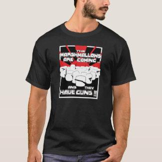 Eibisch-RückholShirt (Schwarzes) T-Shirt
