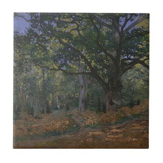 Eiche im Wald Kleine Quadratische Fliese