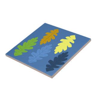 Eichen-Blatt Fliese