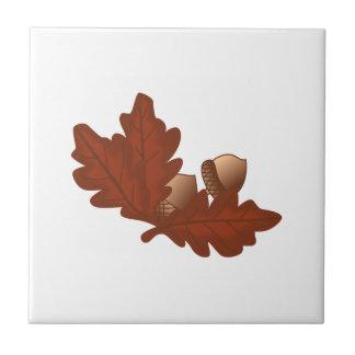 Eichen-Blätter Fliese