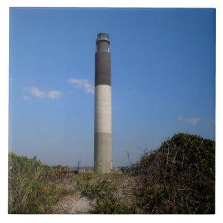 Eichen-Insel-Leuchtturm Keramikfliese