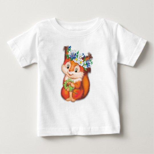 Eichhörnchen Baby T-shirt