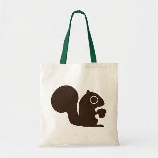 Eichhörnchen Budget Stoffbeutel