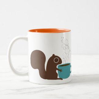Eichhörnchen-Kaffee-Liebhaber Kaffee Tassen