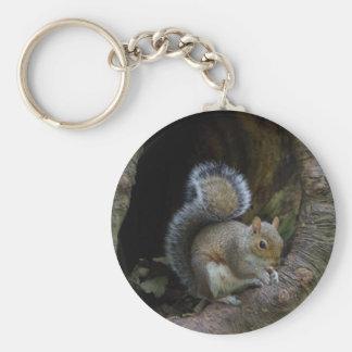 Eichhörnchen-Schlüsselring Schlüsselanhänger