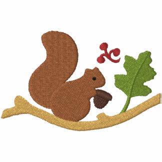 Eichhörnchen-Spiel Besticktes Kapuzenpulli