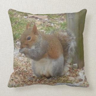 Eichhörnchen-Wurfs-Kissen Kissen
