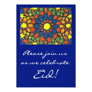 Eid Feier-Einladung - traditioneller Entwurf 12,7 X 17,8 Cm Einladungskarte