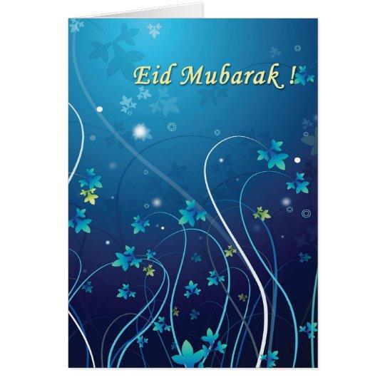 Eid Mubarak-0809 Grußkarte