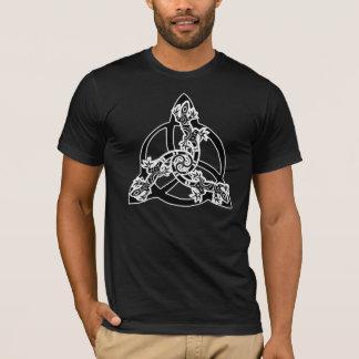 Eidechse Triskell T-Shirt