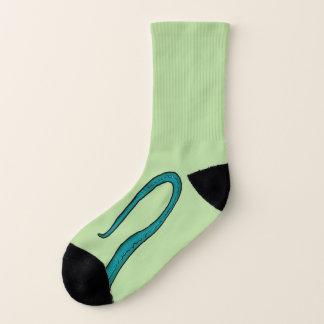 Eidechsen-Drache-Schwanz-und Greifer-Socken Socken