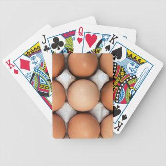 Eier in einem Kasten Poker Karten