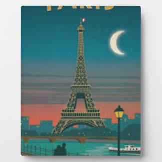 Eiffel Tower Vintage Paris Fotoplatte